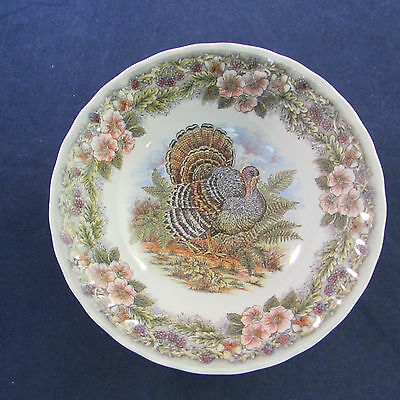 SET OF FOUR - Churchill China THANKSGIVING Cereal Bowls