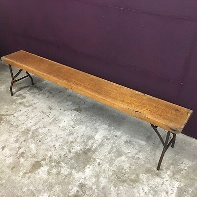 Vintage Gym Bench,industrial,shop display,retro,Mid Century,old school.