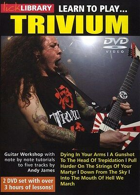Lick Library: Learn To Play Trivium. Guitar 2 x DVD (Region 0)