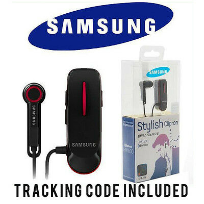 Samsung HM1500 Black In-Ear Only Bluetooth Headset With Tracking Number