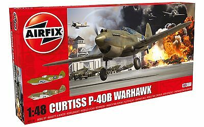 AIRFIX 1/48th Scale Curtis P-40B Warhawk New Tool Kit No. A05130