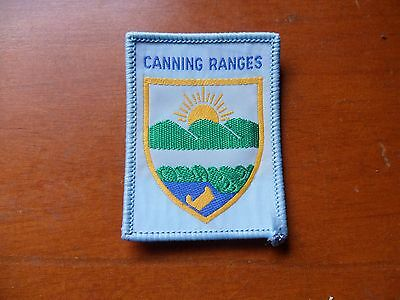 Canning Ranges District  Western Australia  Scout Cloth Badge