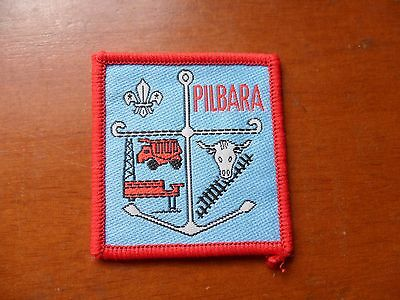 Pilbara District Western Australia Scout Cloth Badge
