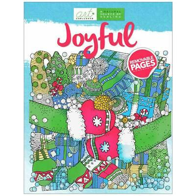 NEW Art Unplugged Joyful Color Book 1940899273