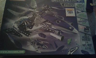 Meccano Space Chaos Silver Force