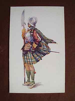 Vintage Cousland postcard Macleod of Harris Scottish clan history