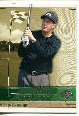 2002 Upper Deck Pin Seekers #PS6 Phil Mickelson - NM-MT