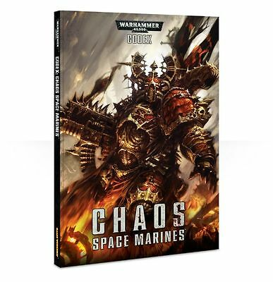 Warhammer 40k CODEX: Chaos Space Marines (Brand NEW)
