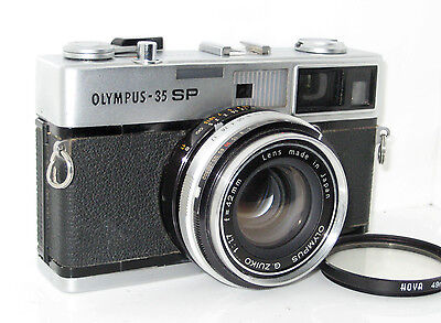 Olympus 35Sp 35 Sp  Serviced  100% Funzionante Full Working