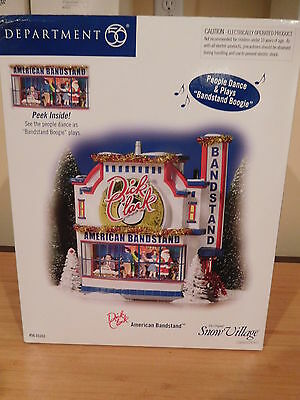Dept 56 Snow Village - Animated Dick Clark's American Bandstand - NIB