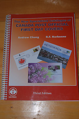 Weeda Chung/Narbonne Canada Post Official First Day Covers, 2007 Third Edition