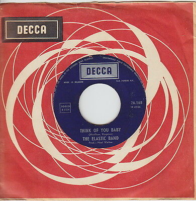 The ELASTIC BAND * Think Of You * 1968 UK PSYCH POPSIKE * Belgian 45 * Listen!