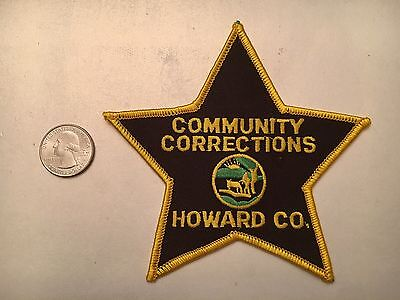 Howard County Indiana Community Corrections Police Patch In