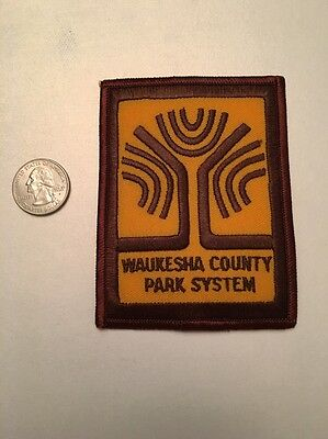Waukesha County Wisconsin Park System Ranger Police Patch Wi