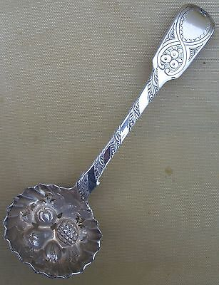 Antique Victorian Sterling silver berry ladle, 37 grams, 1810
