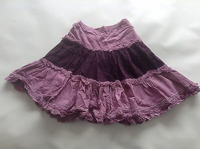 Girls GENUINE Monsoon Lined Layered Skirt SIZE Age 6-8 Years Old Vgc