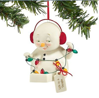 Snowpinions Life In A Tangle Ornament Brand New