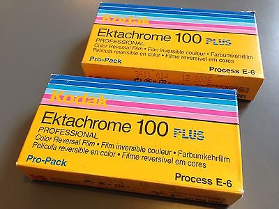 Kodak Ektachrome 100 Plus EPP Film 120 Medium Format X9 Rolls