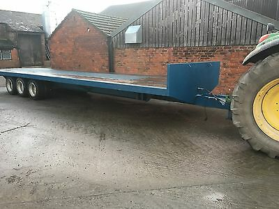 Bale Trailer. Tipping Trailer. Tractor Trailer