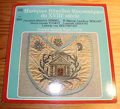 MASONIC MUSIC of the 18th Century COTTE LP ARION