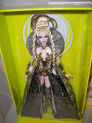 Goddess of the Galaxy Barbie DOll NRFB Gold Label NRFB with Shipper (read)