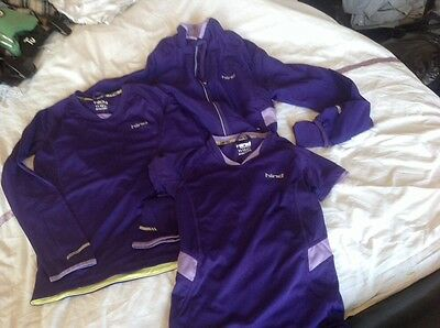 Girls Hind Running Tops And Jacket Age 11-12