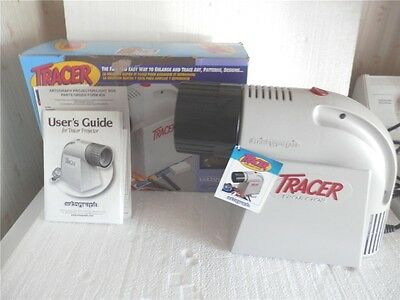 Artograph Tracer 225-360 Art Projector Enlarger Mint In Box