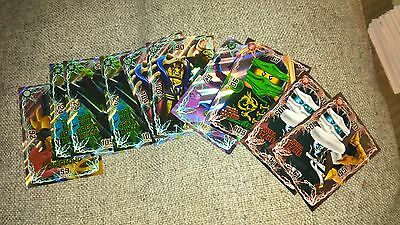 Lego Ninjago Trading Cards - Limited Edition & Super Rare Ultra Cards