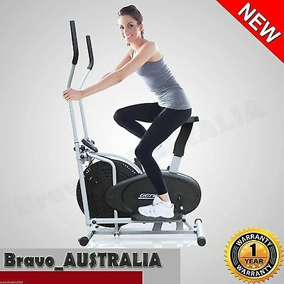 NEW Elliptical Cross Trainer & Fitness Exercise Bike Bicycle Equipment Home GYM