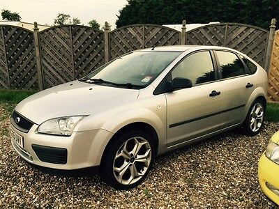 2005 Ford Focus Lx Tdci Silver Spares Or Repair