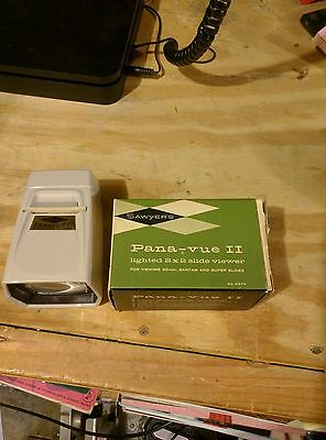 Vintage Sawyer's Pana-Vue 2 2x2 Slide Viewer Slides Picture Viewer Projector