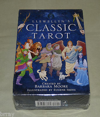 LLEWELLYN'S CLASSIC TAROT Deck and Book kit - **New & Sealed**