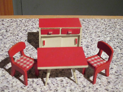 vintage* BARTON * KITCHEN FURNITURE - 16th / LUNDBY scale