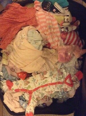Wholesale Joblot bundle baby clothes 120 items + extras some Brand new!!!