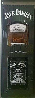 JACK DANIELS 700ml/ GENTLEMEN JACK 200ml whiskey gift pack