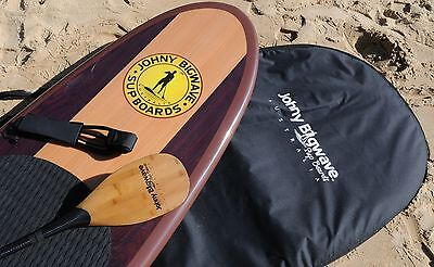 11' SUP Board with Board bag, Leash, Fins, Deck pad and Carbon fibre paddle