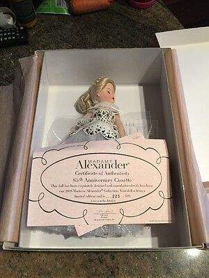 Madame Alexander 48315 85th Anniversary Cissette Doll Rare Limited Ed To 500