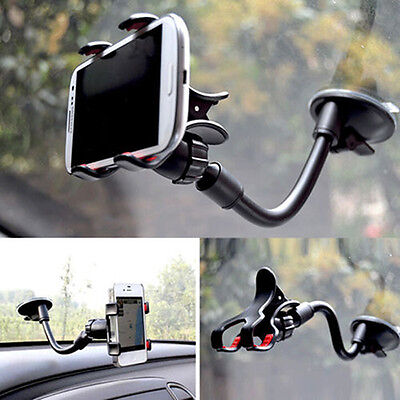 Convient Universal 360 Rotating Car Windshield Mount Holder Stand For CELL Phone