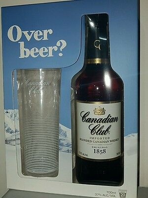 Canadian Club Whisky Gift Pack with Glass 700ml
