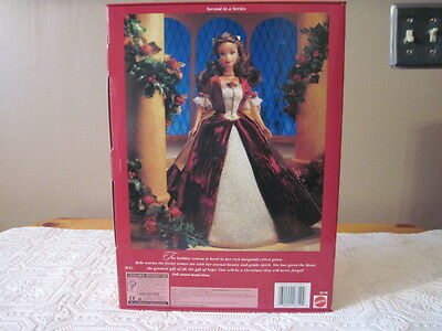 Mattel Disney's Beauty and The Beast Holiday Princess Belle 1997