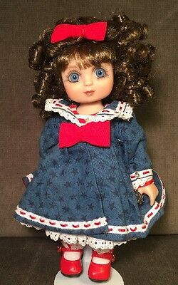 Marie Osmond Adora Belle Nautical Nice Bitty Belle Doll Brunette Blue Eyes 2003