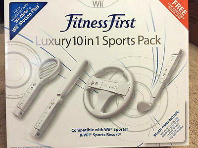 Nintendo Wii Accessory fitness first  Sports Pack -