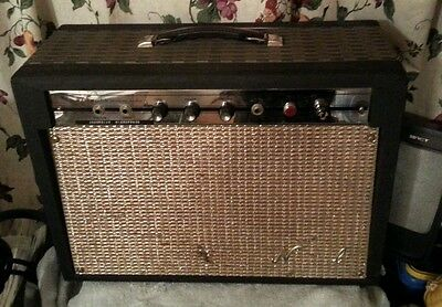 """1964 NATIONAL N 6416T Valco  2 x 8""""  Class A Tube Guitar amp amplifier Supro USA"""
