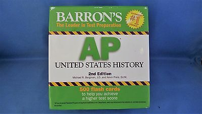 Barron's AP United States History Flash Cards - 2nd Edition