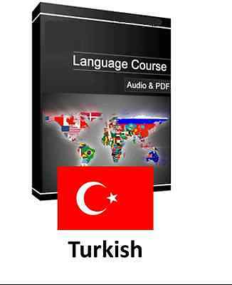 Learn to Speak Turkish - Teach Yourself Language Course on PC CD