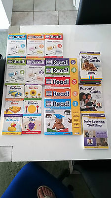 Your Baby Can Read 29 Items DVDs Books & Cards Kit