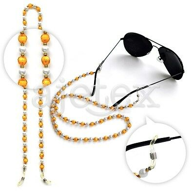 60cm Arylic Sunglasses Spectacle Beads Chain Strap Cord Holders Neck Lanyard