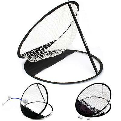 Outdoor Sports Portable Golf Practice Chipping Foldable Net Training Tool