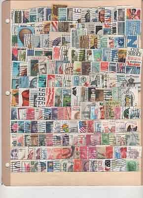 over 150 u. s. used stamps