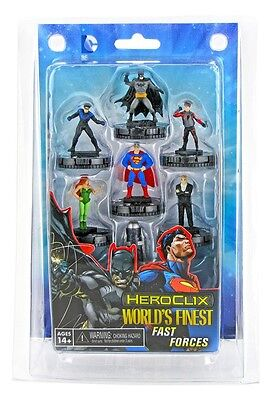 DC Heroclix - World's Finest - FAST FORCES Batman Superman Nightwing Poison Ivy